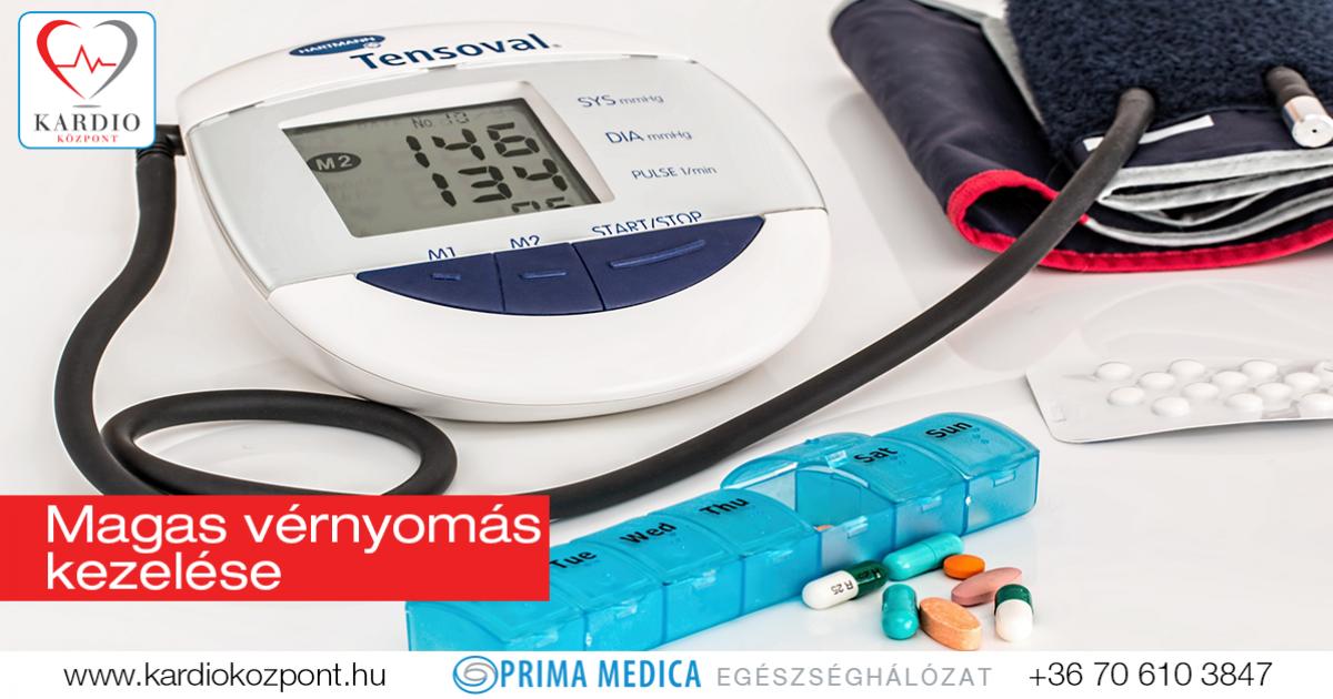 a magas vérnyomást egy nap alatt kezelik magas vérnyomás fokozatának kockázata