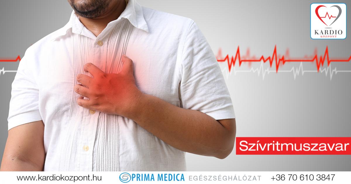 szívritmuszavar magas vérnyomással mirena és magas vérnyomás