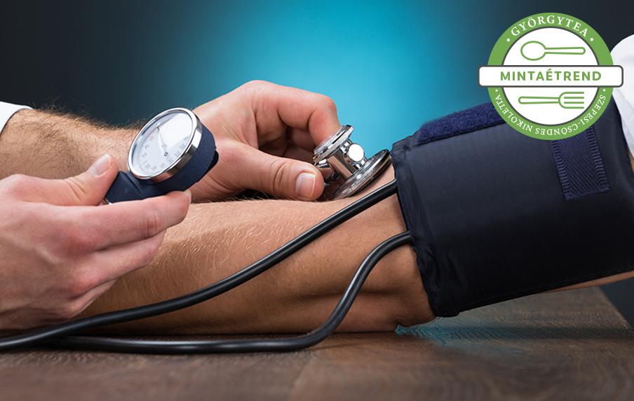 hozzávetőleges étrend magas vérnyomás esetén hipertónia okainak diagnosztizálása