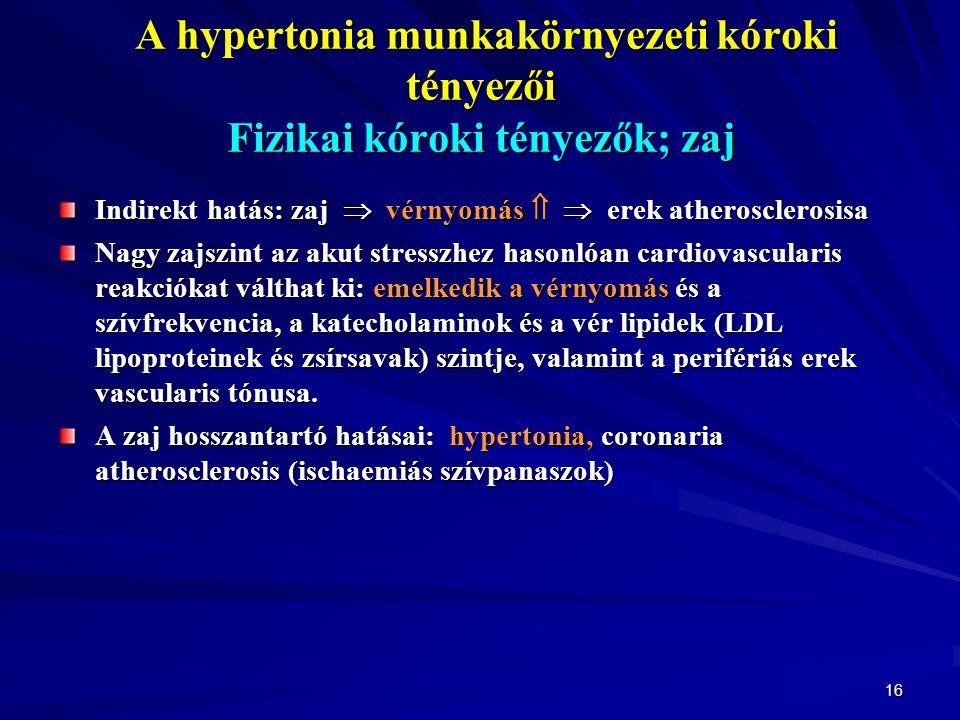 a hipertónia munkakorlátozásai aerob testmozgás és magas vérnyomás