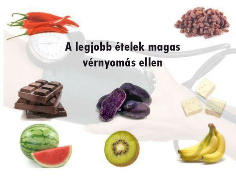 a magas vérnyomás elleni egészséges ételekről