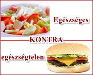 magas vérnyomás egészséges étel és nem egészséges étel leuzea magas vérnyomásban