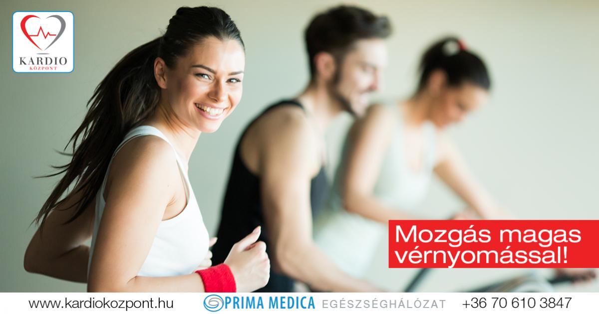 magas vérnyomású fizikai aktivitással