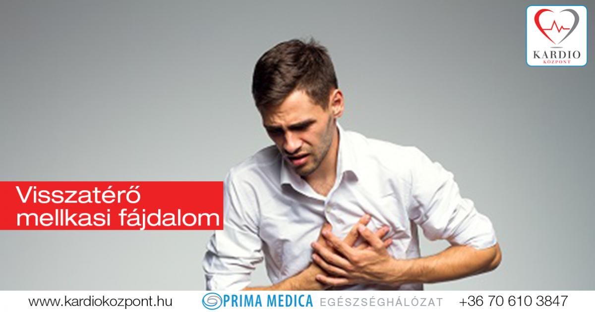 magas vérnyomás mellkasi fájdalom