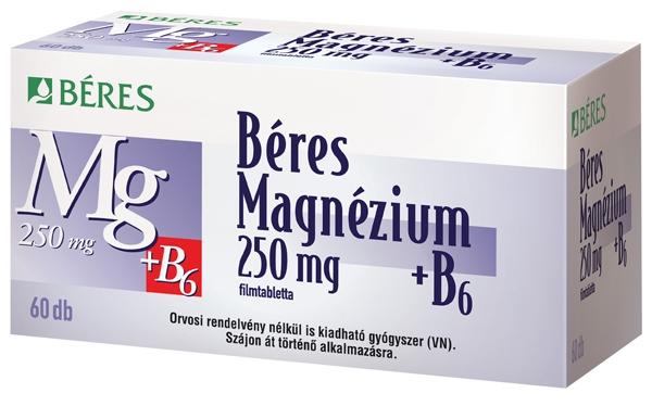 magas vérnyomás és magnéziumot tartalmazó gyógyszerek