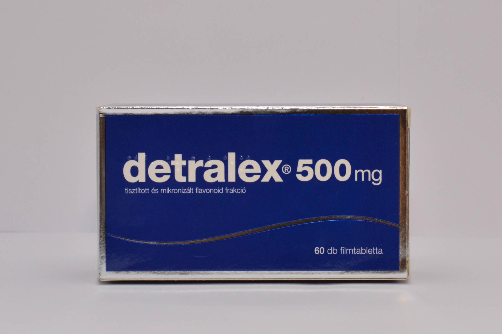 A Detralex magas vérnyomás esetén alkalmazható